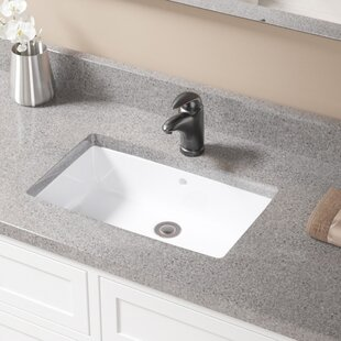 Small Undermount Bathroom Sinks. Rectangular Undermount Bathroom Sink With Overflow
