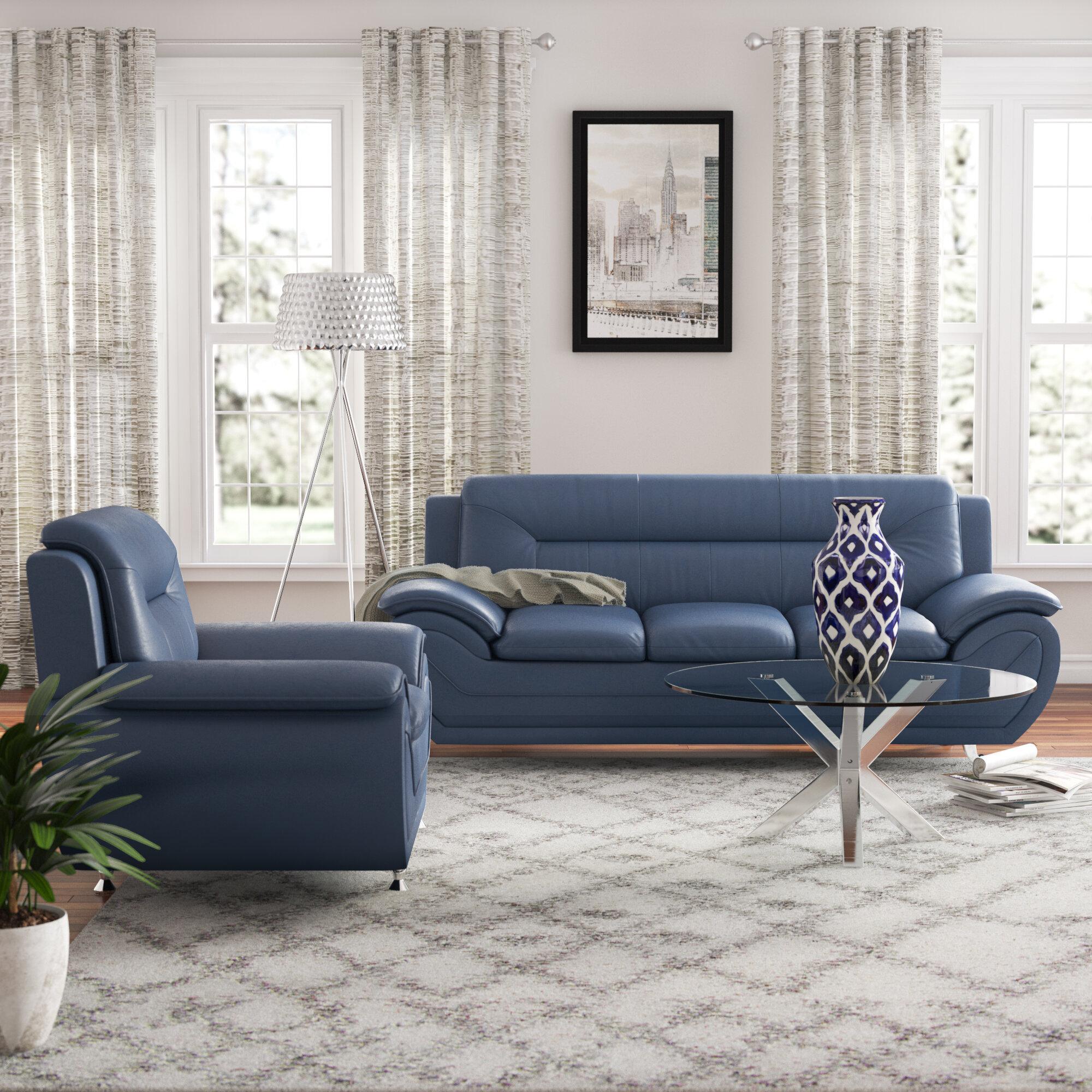 Ebern Designs Brose 2 Piece Standard Living Room Set Wayfair