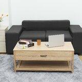 Latasha Lift Top Extendable Floor Shelf Coffee Table with Storage by Brayden Studio®