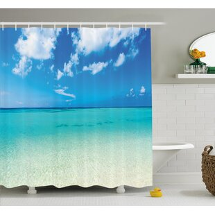 Faye Ocean Dreamy Sea Beach Shower Curtain