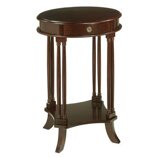 Arjun End Table by Alcott Hill Amazing