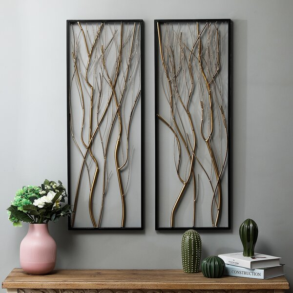 Metal Branch Wall Decor Wayfair
