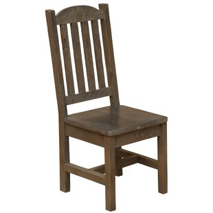 Frontier Cathedral Solid Wood Dining Side Chair