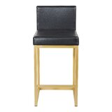 Baney 26.5'' Counter Stool (Set of 2) by Everly Quinn