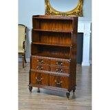 Wynnewood 58 H x 33 W Solid Wood Standard Bookcase by Astoria Grand