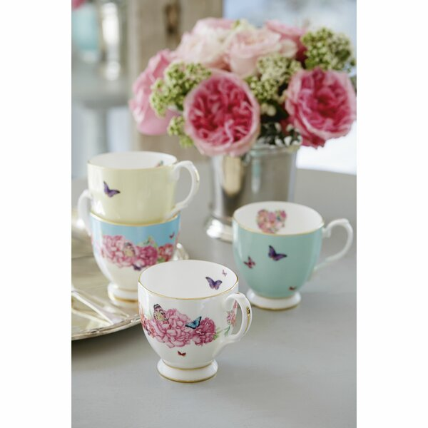 Royal Albert Miranda Kerr 4 Piece Bone China Coffee Mug Set Wayfair