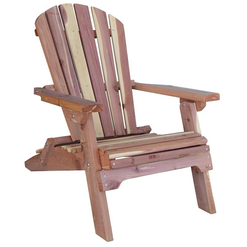 Attractive Richfield Folding Adirondack Chair