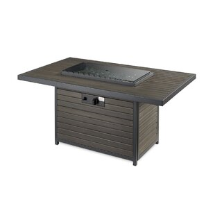 Brooks Composite Propane Fire Pit Table