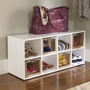 Affordable 8-Compartment 8 Pair Shoe Rack By ClosetMaid