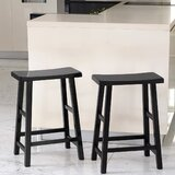 Rotan Bar & Counter Stool (Set of 2) by Winston Porter