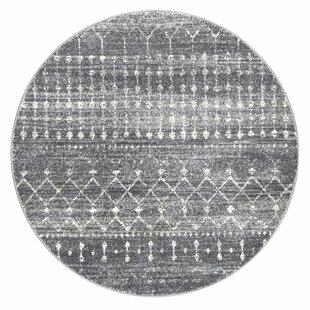 Clair Dark Gray Area Rug by Mistana