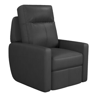 Cody Leather Manual Recliner by Westland and Birch