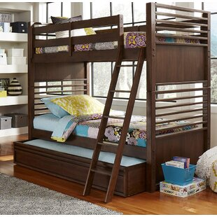 Stepplee Bunk Bed with Trundle by Grovelane Teen