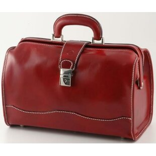 Verona Giotto 14.75 Leather Carry-On Duffel ByAlberto Bellucci