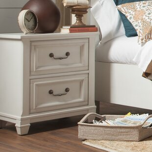 Randolph 2 Drawer Nightstand by Beachcrest Home