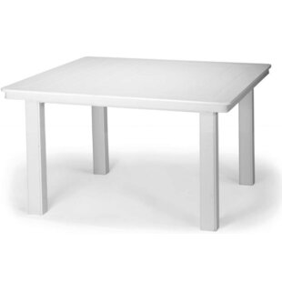 Shop For Marine Grade Polymer 42 inch  Square Chat Height Dining Table Best Deals
