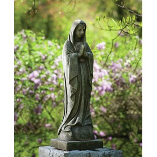 Charmant Large Madonna Garden Statue