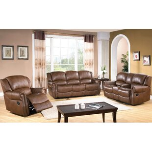 Price comparison Baynes Reclining Configurable Living Room Set by Darby Home Co Reviews (2019) & Buyer's Guide
