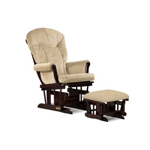Combo Glider and Ottoman by Shermag