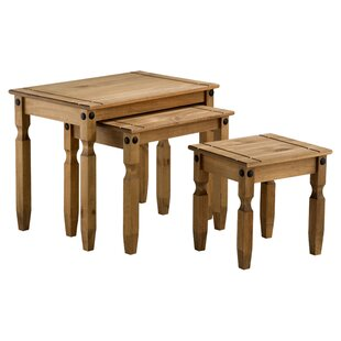 Traditional Corona 3 Piece Nest Of Tables By Home & Haus | Best Buy