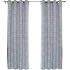 Houndstooth Curtains Wayfair Ca