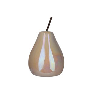 Large White Ceramic Pear Wayfair