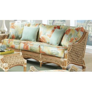 Mauna Loa'' Sofa by Spice Islands Wicker