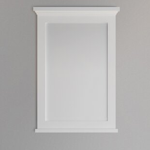 Read Reviews Windsor Textured Bathroom Mirror By Fresca