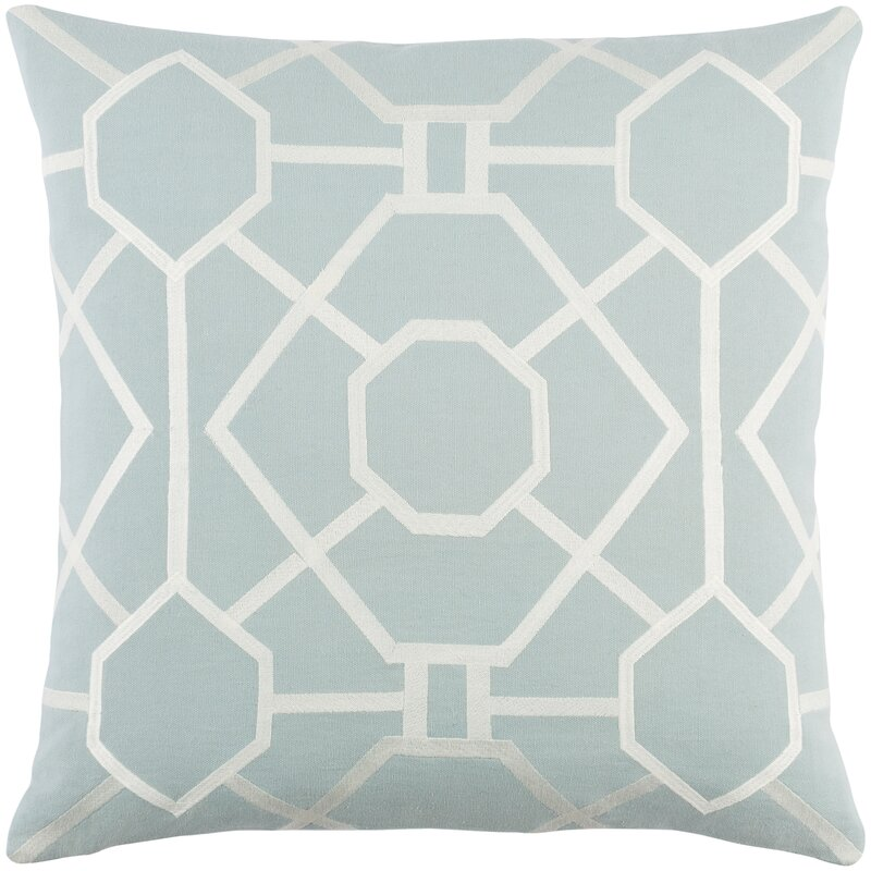 The Twillery Co Gilchrist Cotton Geometric 18 Throw Pillow Cover Reviews Wayfair