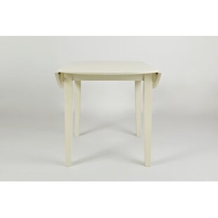 Jarvis Contemporary Wooden Drop Leaf End Table