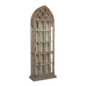 Helka Gothic Standard Curio Cabinet by One Allium Way