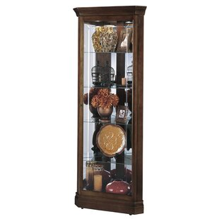 Jennings Lighted Curio Cabinet by Howard Miller®