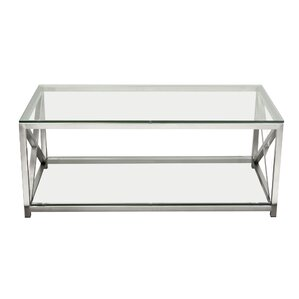 X-Factor Coffee Table with Magazine Rack by ..