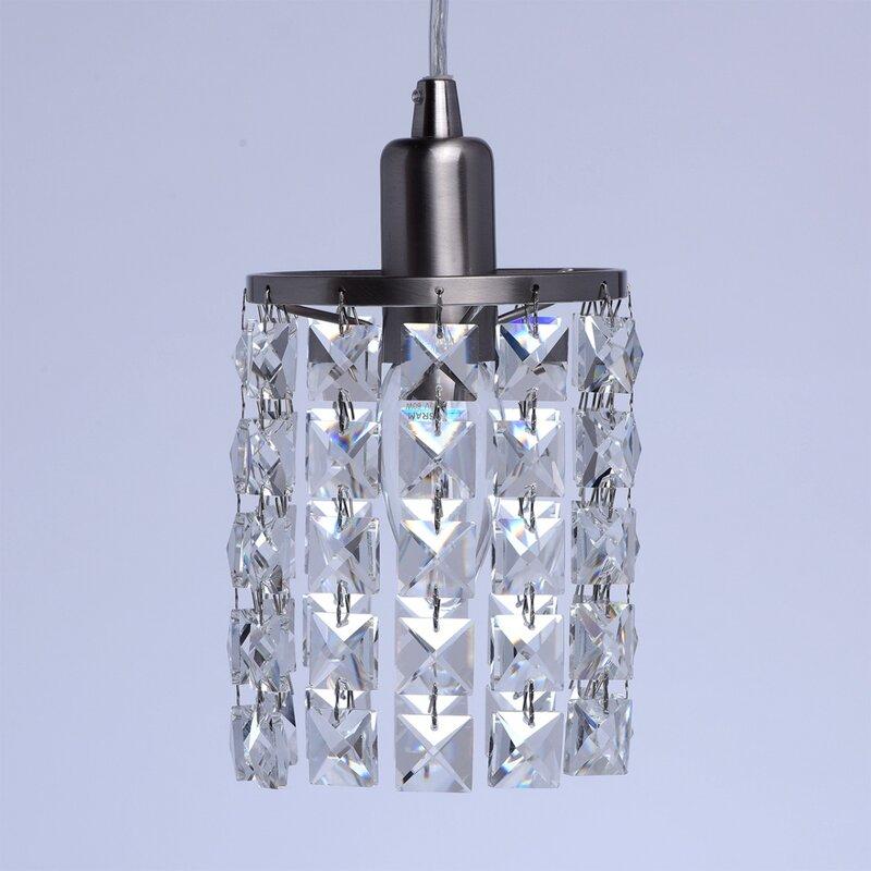 Home Loft Concept Mini-Pendelleuchte 1-flammig Crystal & Bewertungen ...
