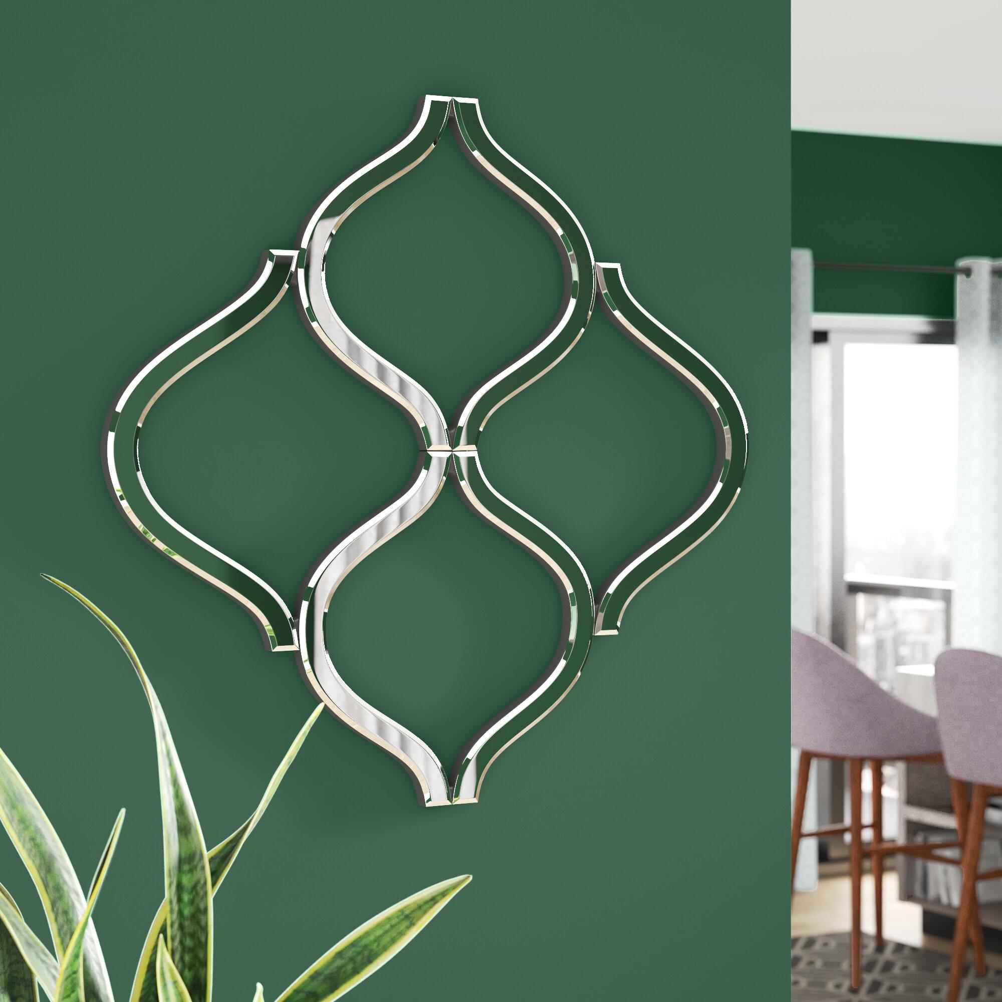 Latitude Run Pilning Lattice Wall Mirror Reviews Wayfair