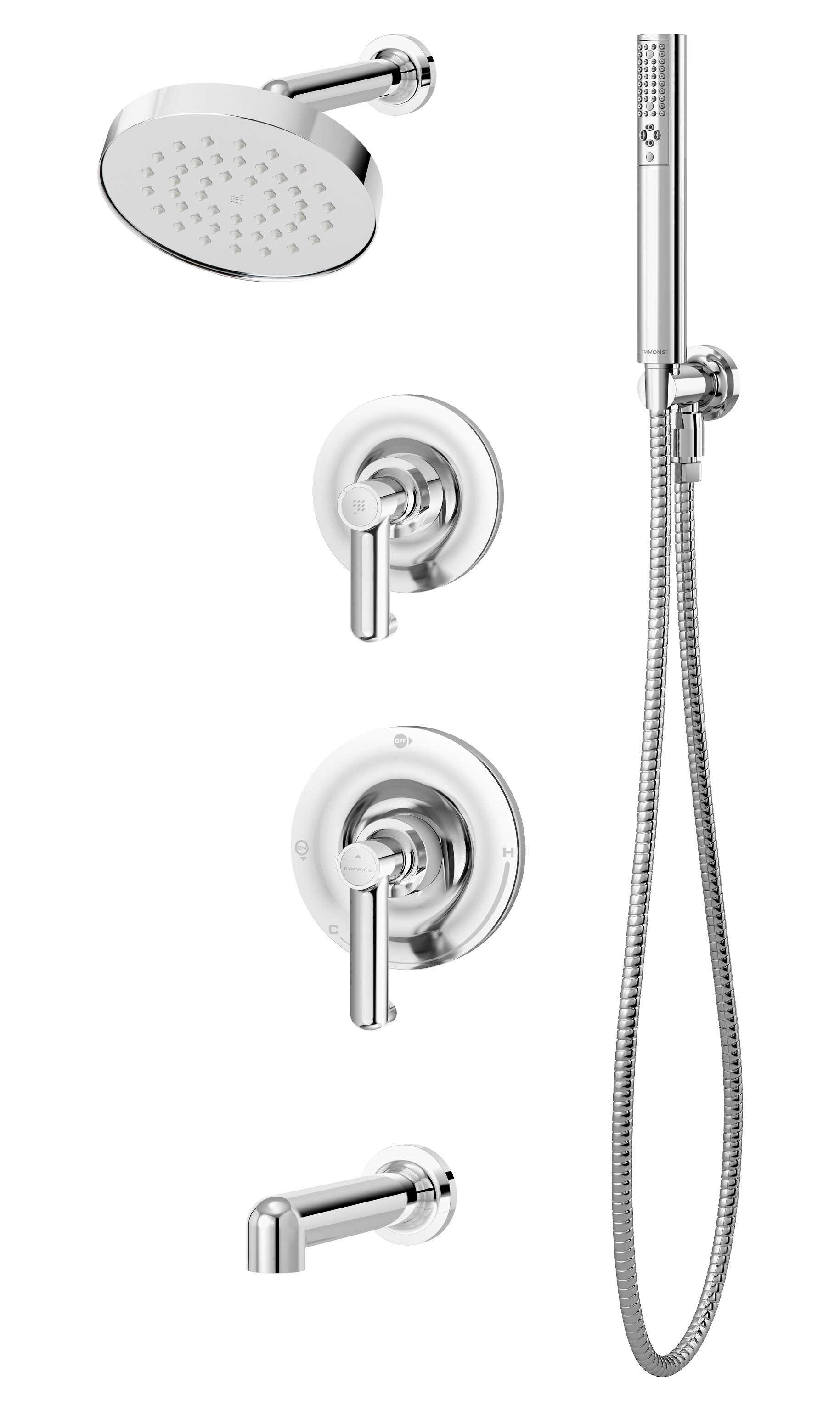 Symmons Museo Diverter Complete Shower System Wayfair