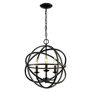 Baitz 3-Light Globe Pendant