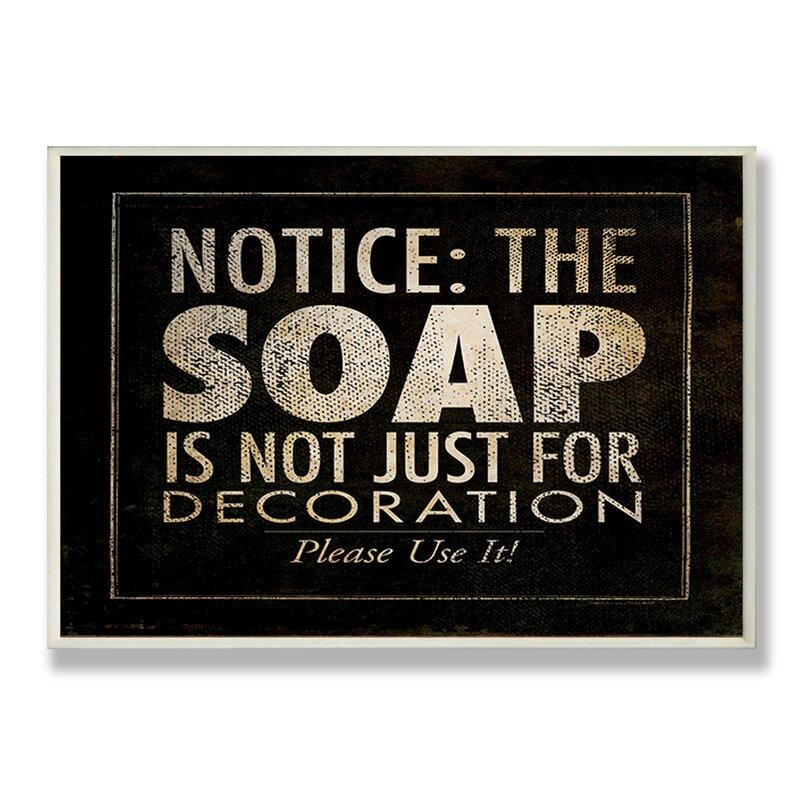 Winston Porter Cheng Notice The Soap
