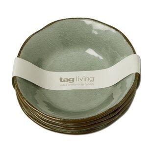 Veranda 4 Piece Melamine Rice Bowl Set