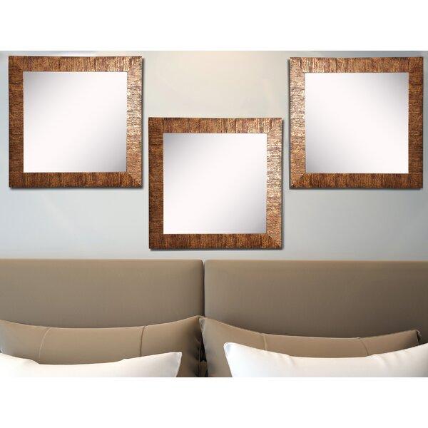 Dakota Fields 3 Piece Analleli Modern Contemporary Wall Mirror Set Wayfair