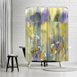 Rachel McNaughton Summer Meadow Single Shower Curtain
