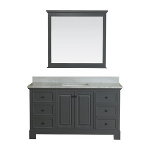 Cothern 60 Single Bathroom Vanity Set with Mirror By Red Barrel Studio