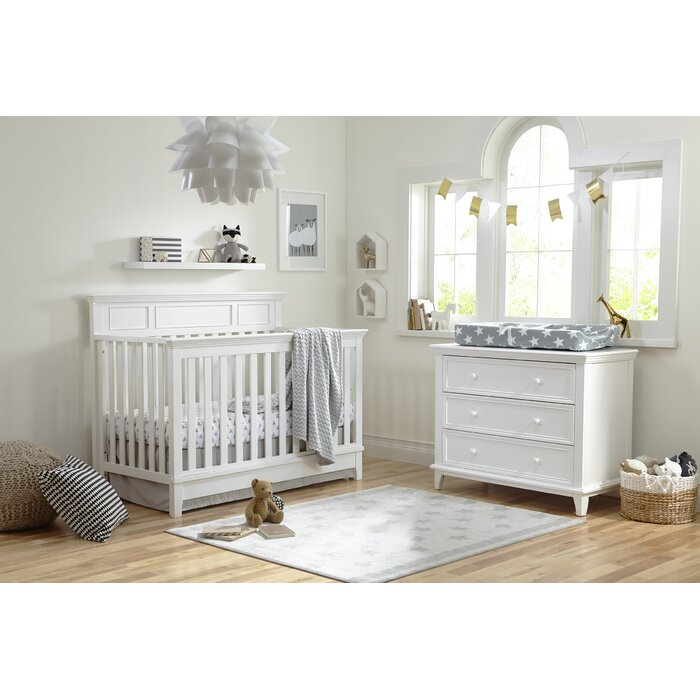 Harper 4 In 1 Convertible Standard 2 Piece Nursery Furniture Set