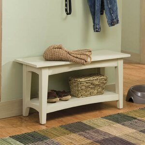 Bel Air Wood Storage Bench