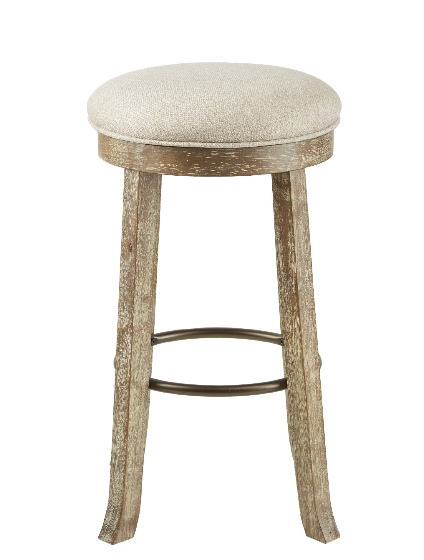Union Rustic Madiun 30 Backless Swivel Bar Stool Wayfair
