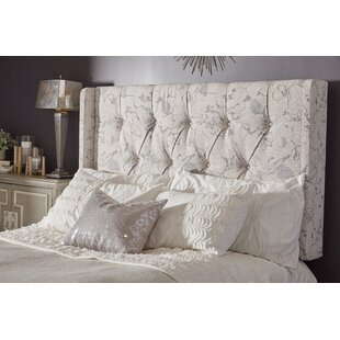 Deals Basco Button Tufted Upholstered Panel Headboard by Darby Home Co