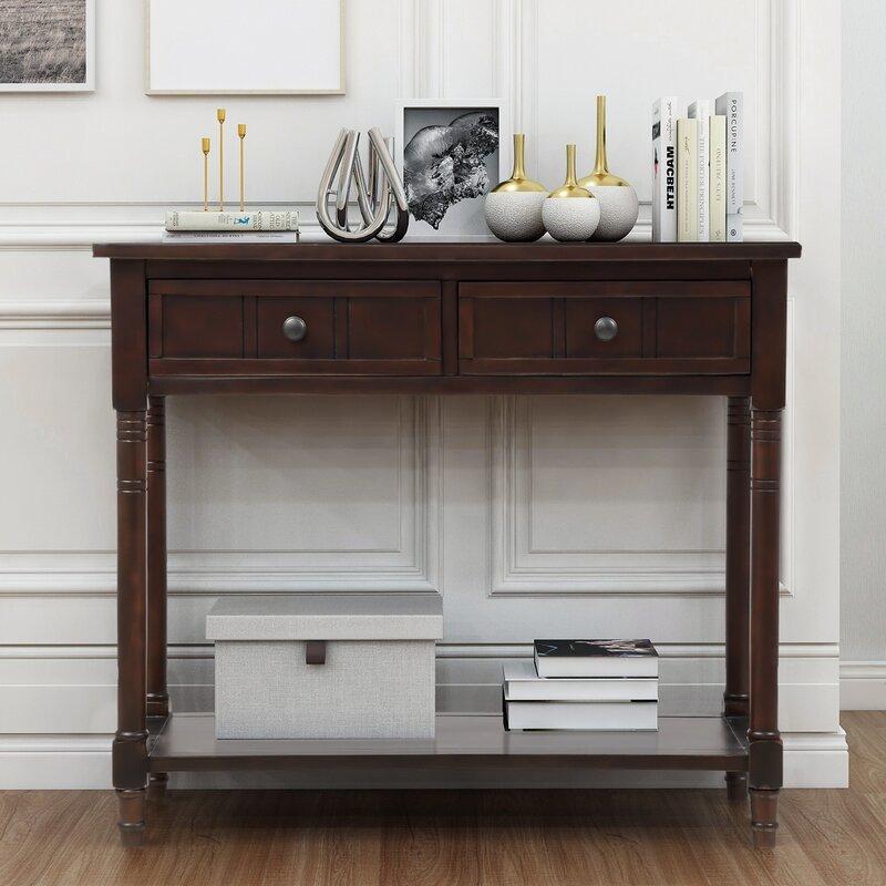 Canora Grey Melanson 35'' Console Table | Wayfair