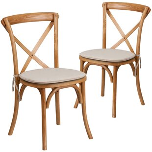 Ivonne Upholstered Dining Chair (Set of 2) Loon Peak