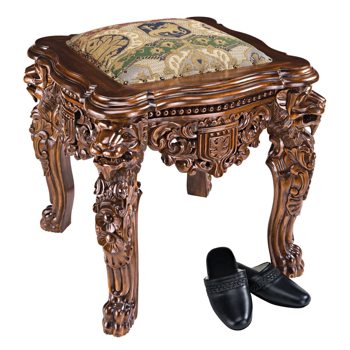Incredible The Lord Raffles Lion Leg Gothic Stool Beatyapartments Chair Design Images Beatyapartmentscom