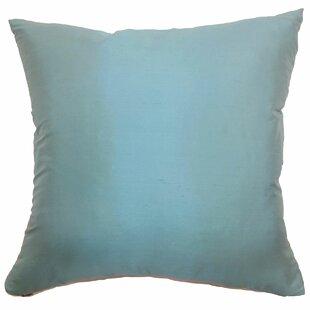 Agnieska Plain Silk Throw Pillow